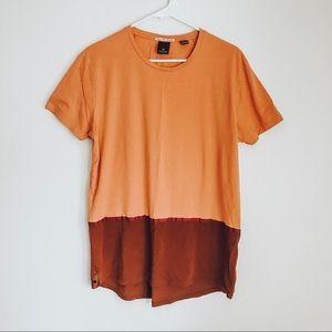 ⚫️ Scotch & Soda Color-block Tunic T-Shirt